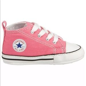 Converse Chuck Taylor First Star Pink Sneakers